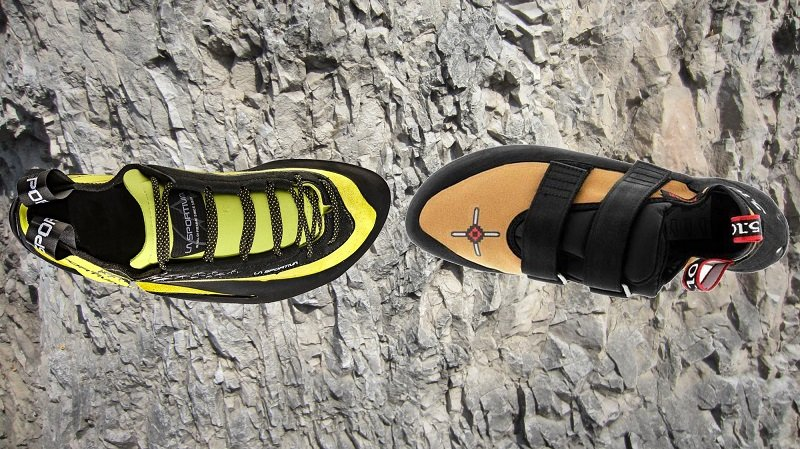 Miura lace vs Anazasi vcs iconic climbing shoes