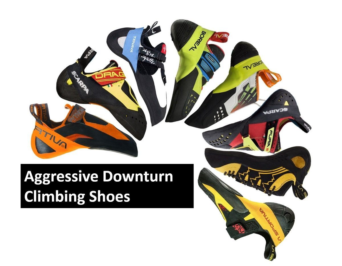 aggressive climbing shoes